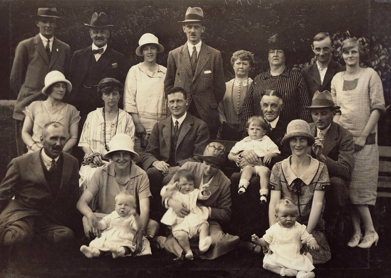 Harry, Alice and their extended family