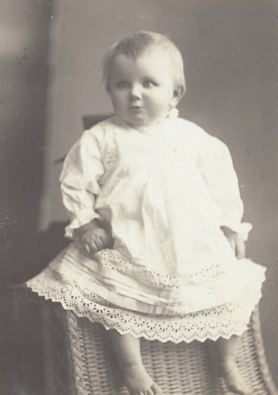 Mamie as a baby 1910